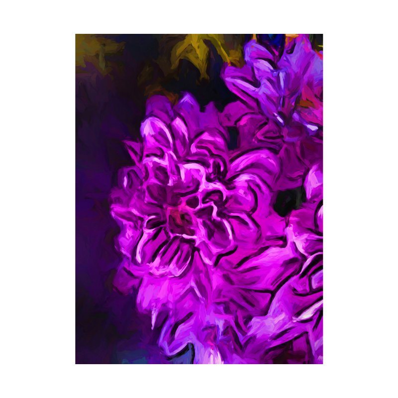 Purple Flower with Pink Petals by jackievano's Artist Shop