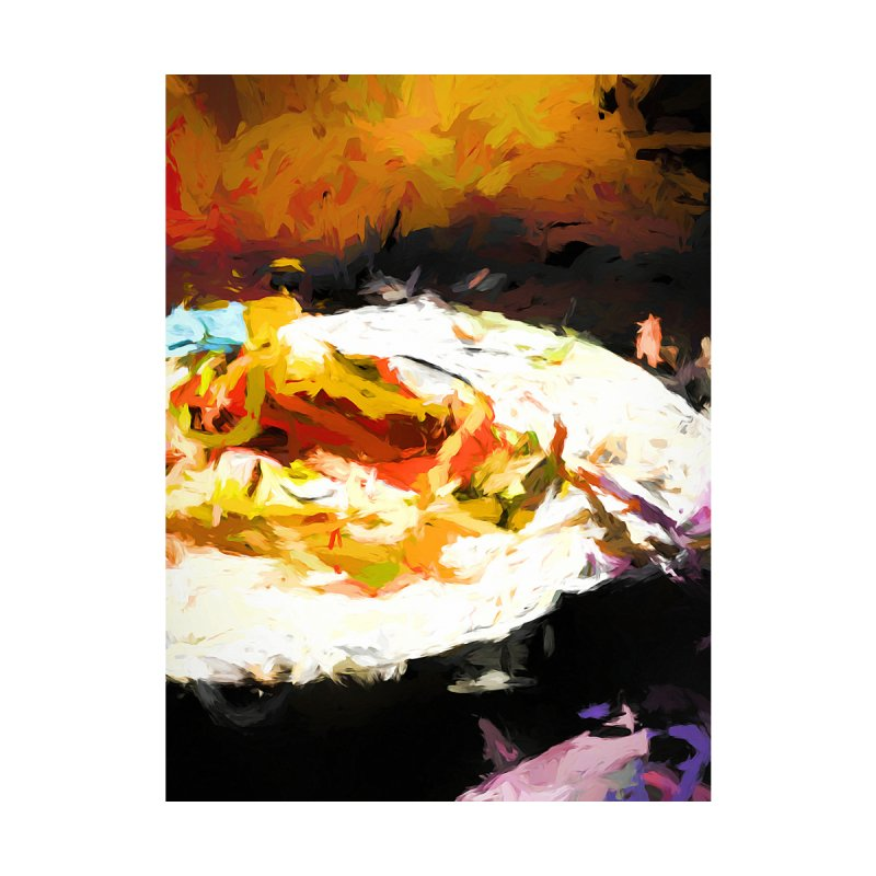 Crumbed Chicken Sandwich by jackievano's Artist Shop