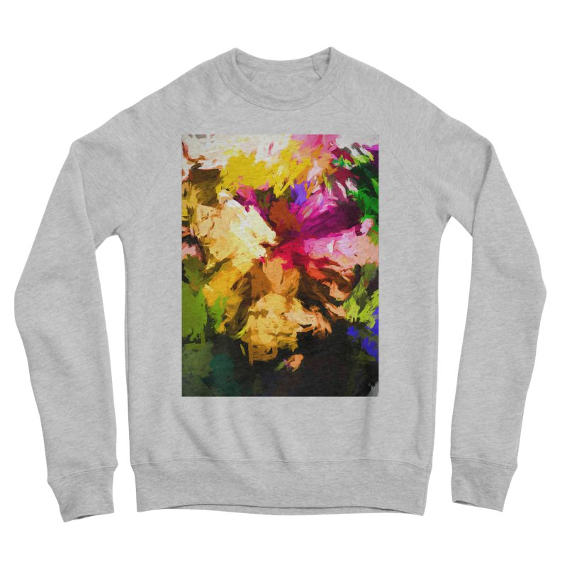 Love Rainbow Rhapsody Women's Sponge Fleece Sweatshirt by jackievano's Artist Shop