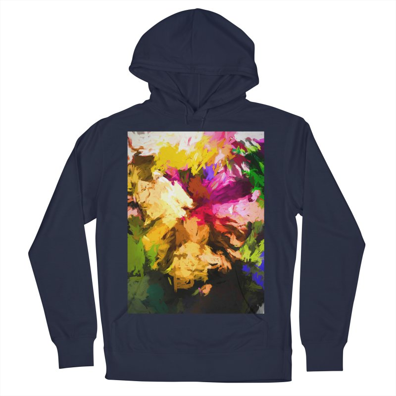 Love Rainbow Rhapsody Women's French Terry Pullover Hoody by jackievano's Artist Shop