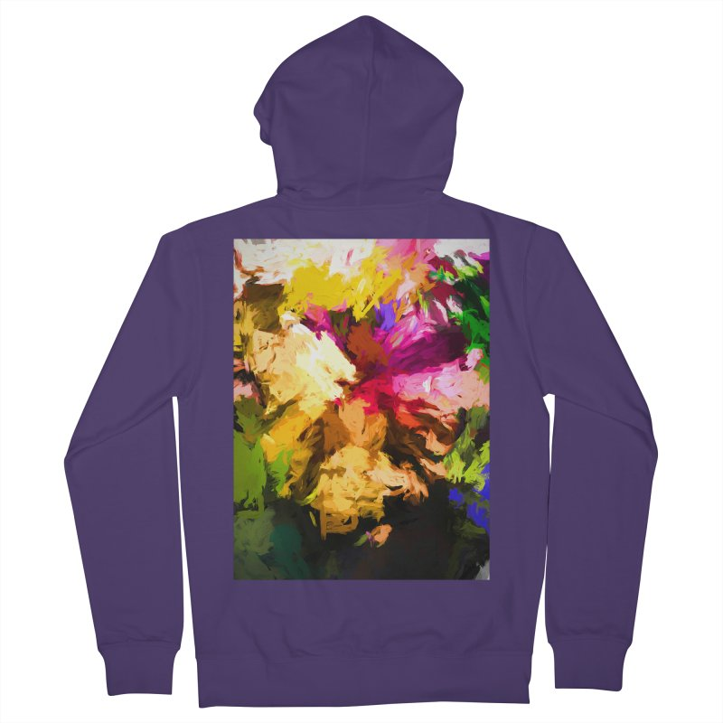 Love Rainbow Rhapsody Women's French Terry Zip-Up Hoody by jackievano's Artist Shop