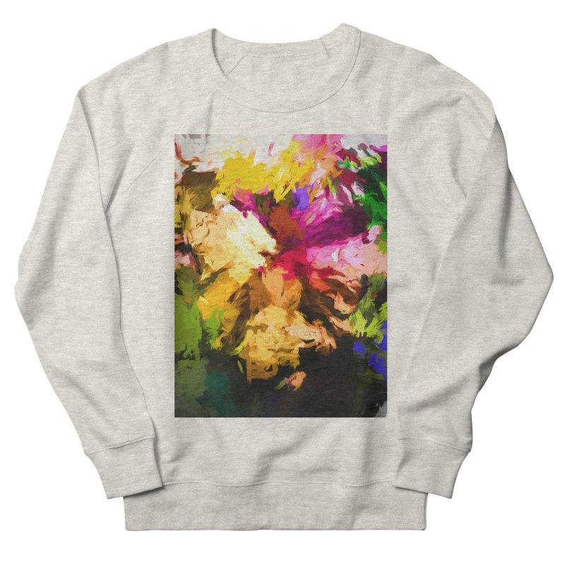Love Rainbow Rhapsody Men's French Terry Sweatshirt by jackievano's Artist Shop