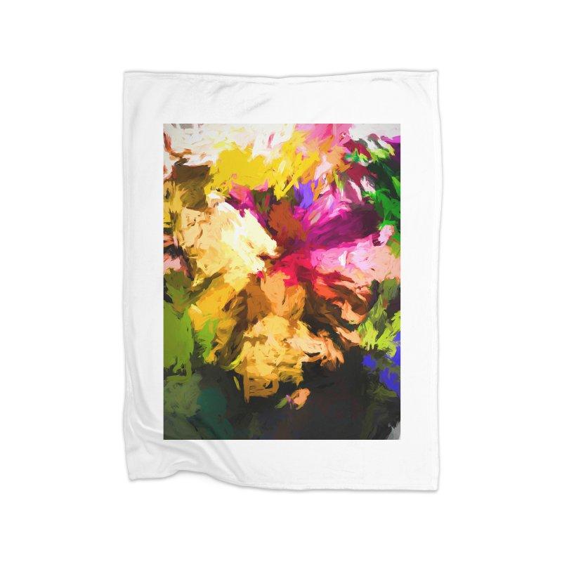 Love Rainbow Rhapsody Home Blanket by jackievano's Artist Shop