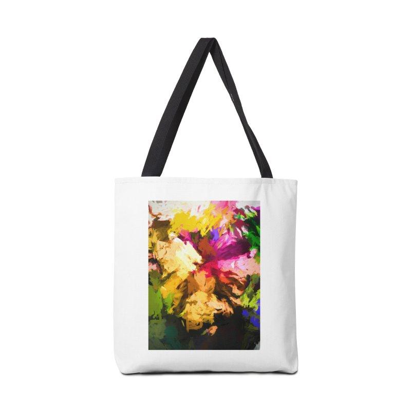 Love Rainbow Rhapsody Accessories Bag by jackievano's Artist Shop