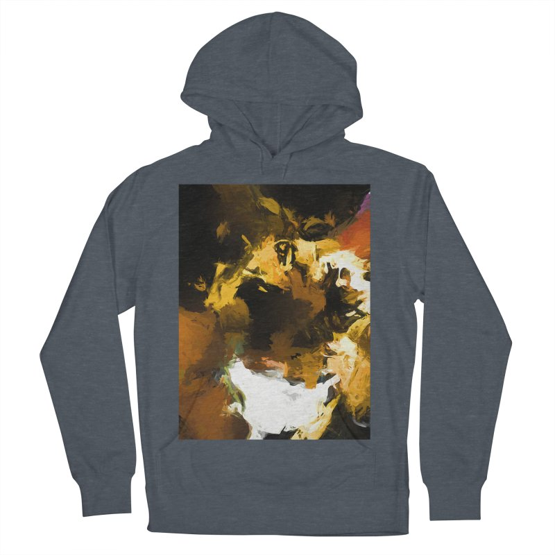 Black Hole Cat Women's French Terry Pullover Hoody by jackievano's Artist Shop