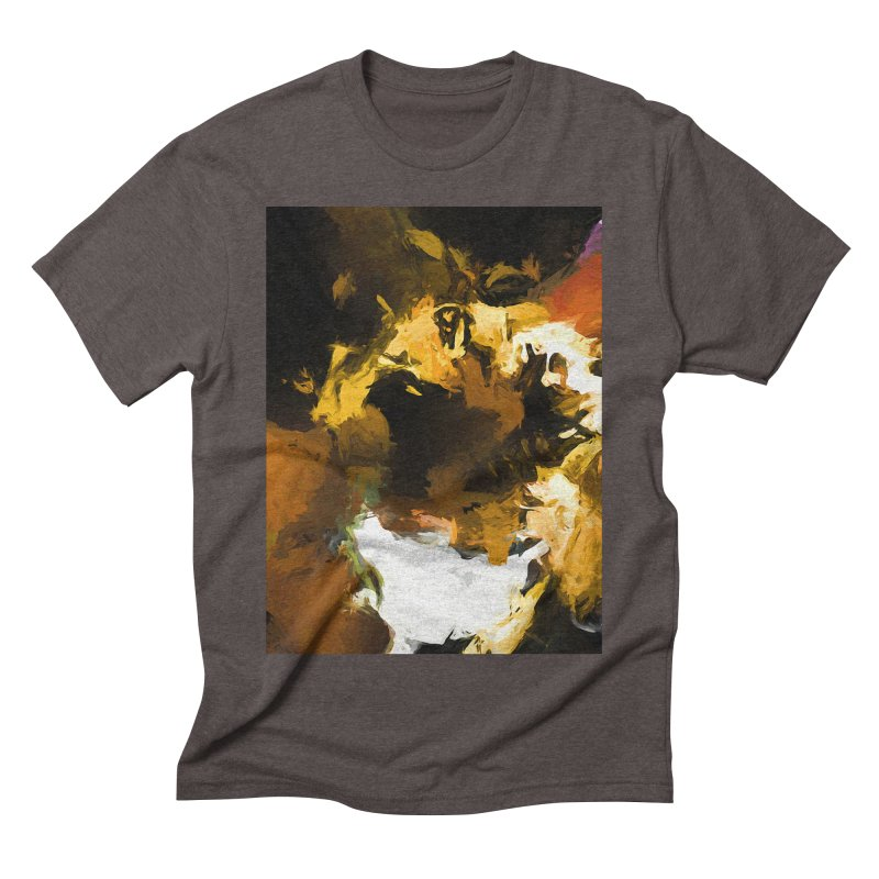 Black Hole Cat Men's Triblend T-Shirt by jackievano's Artist Shop