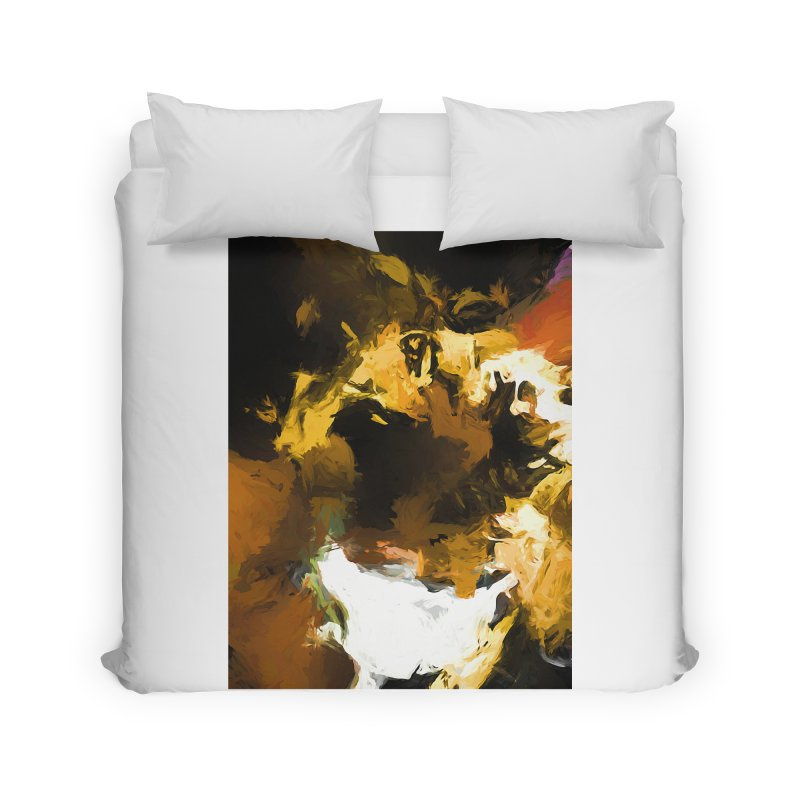 Black Hole Cat Home Duvet by jackievano's Artist Shop
