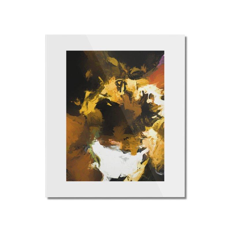 Black Hole Cat Home Mounted Acrylic Print by jackievano's Artist Shop