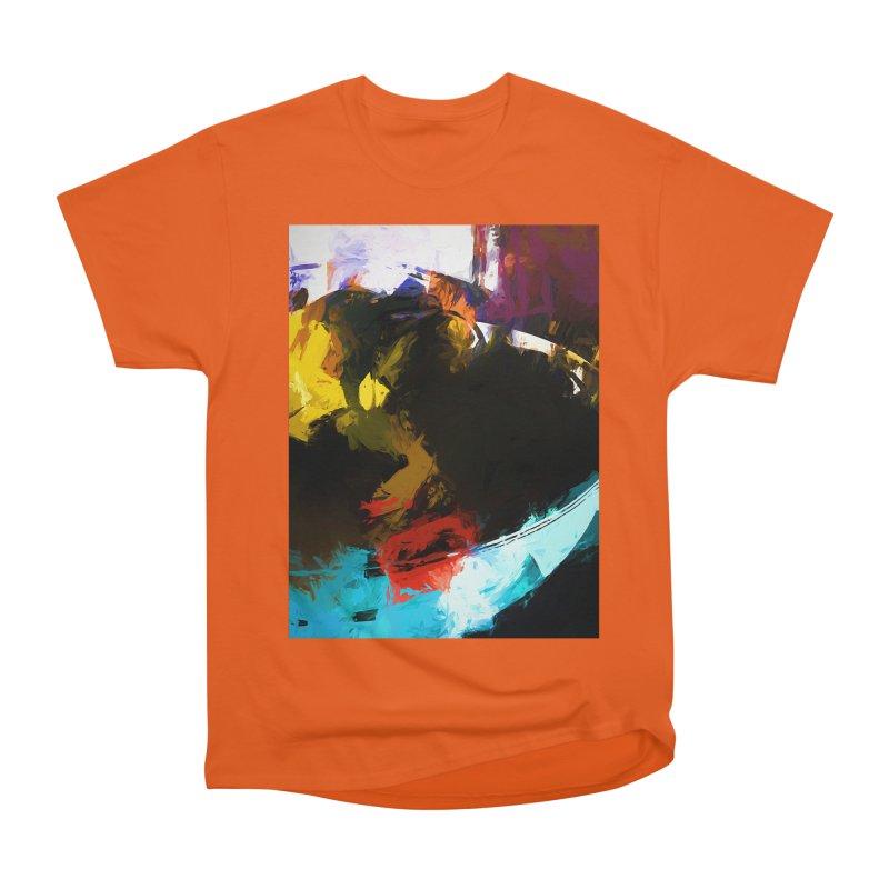 Black Hole Avocado Men's Heavyweight T-Shirt by jackievano's Artist Shop