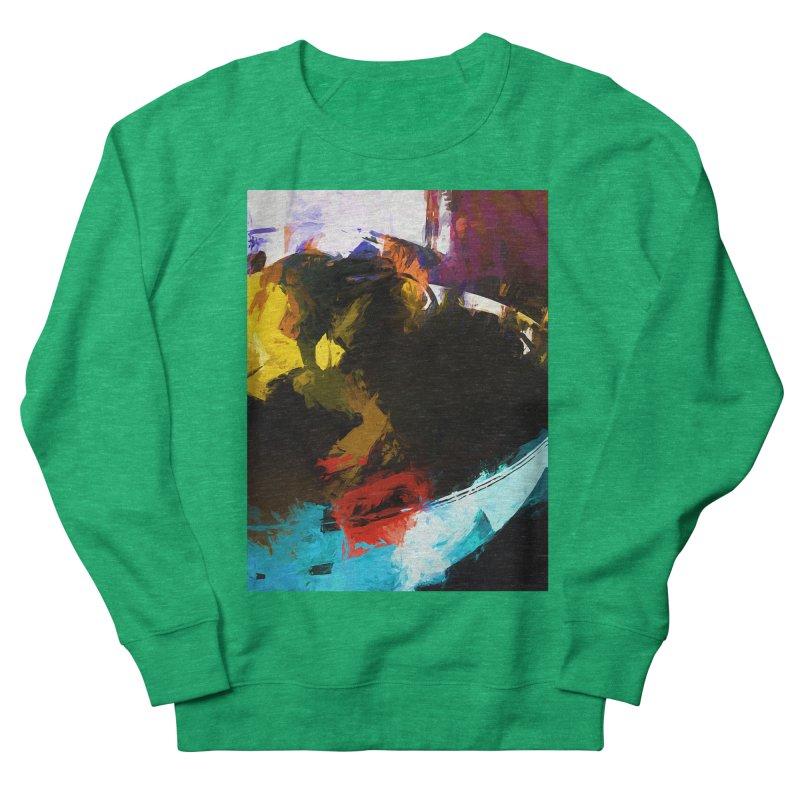 Black Hole Avocado Men's French Terry Sweatshirt by jackievano's Artist Shop