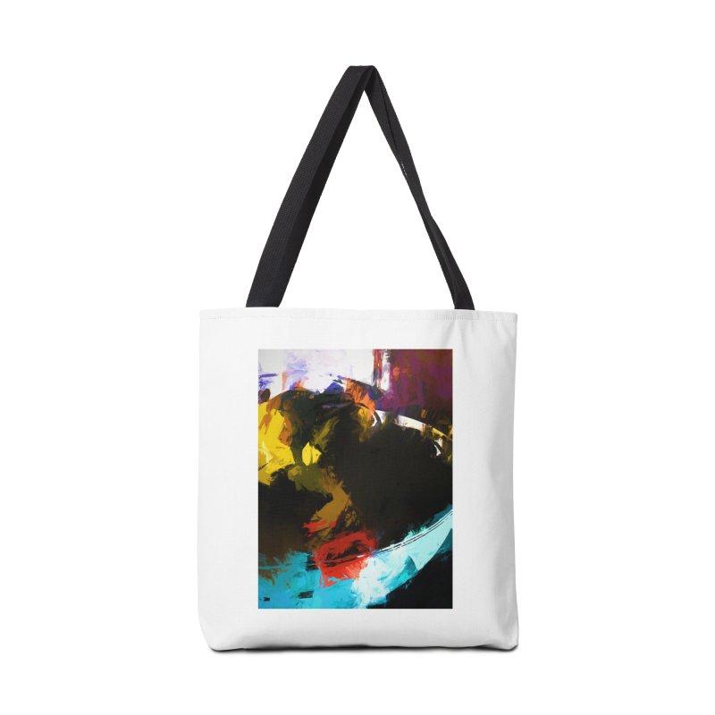Black Hole Avocado Accessories Bag by jackievano's Artist Shop
