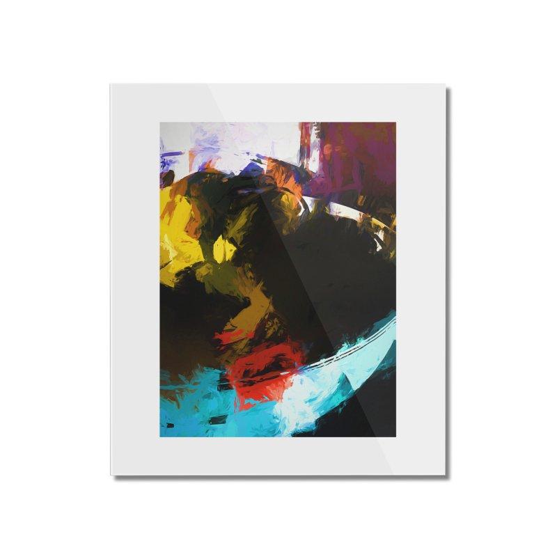 Black Hole Avocado Home Mounted Acrylic Print by jackievano's Artist Shop