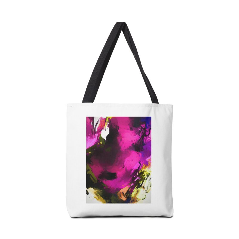 Love Heart Rose Accessories Bag by jackievano's Artist Shop