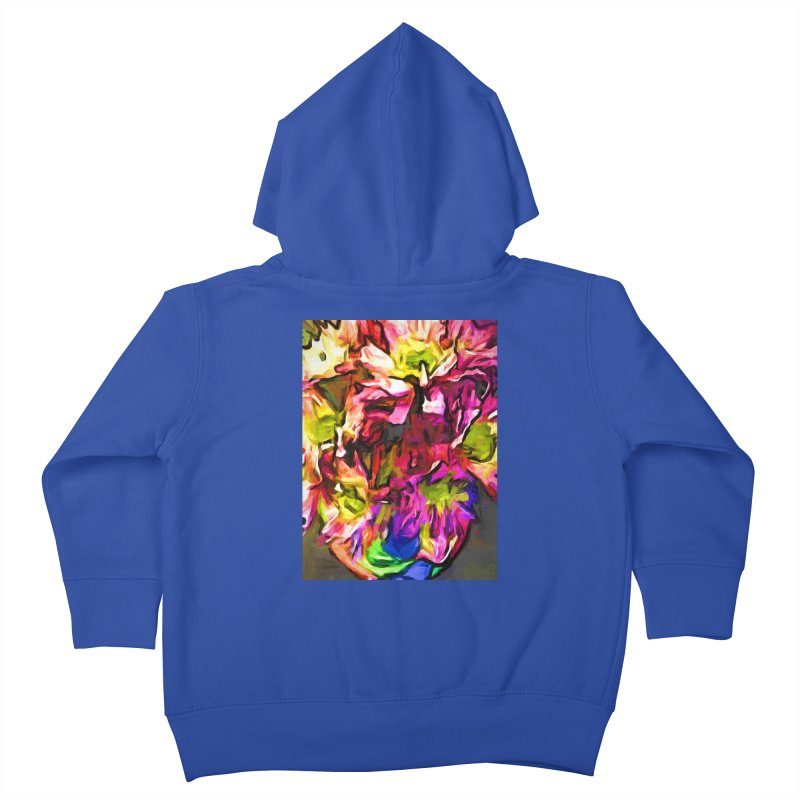 Daisy Gargoyle Dream Kids Toddler Zip-Up Hoody by jackievano's Artist Shop