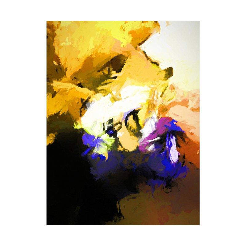 Yellow Flower Bird by jackievano's Artist Shop