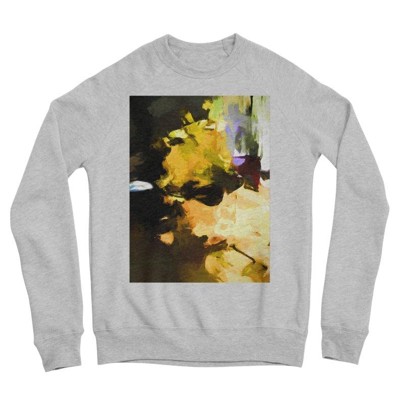 Yellow Square Scoop Men's Sponge Fleece Sweatshirt by jackievano's Artist Shop