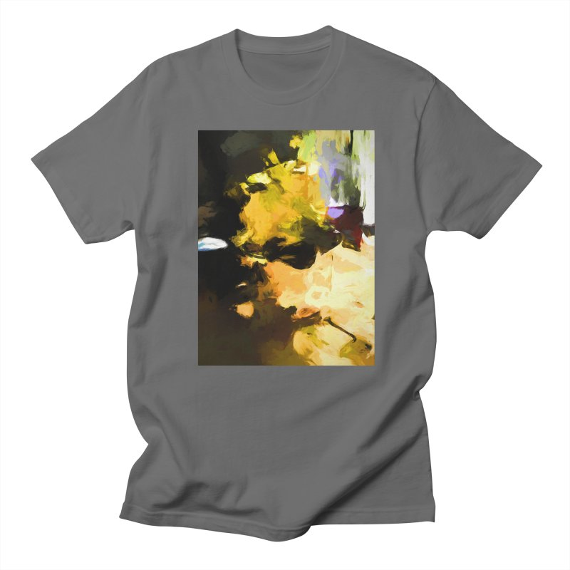 Yellow Square Scoop Men's T-Shirt by jackievano's Artist Shop