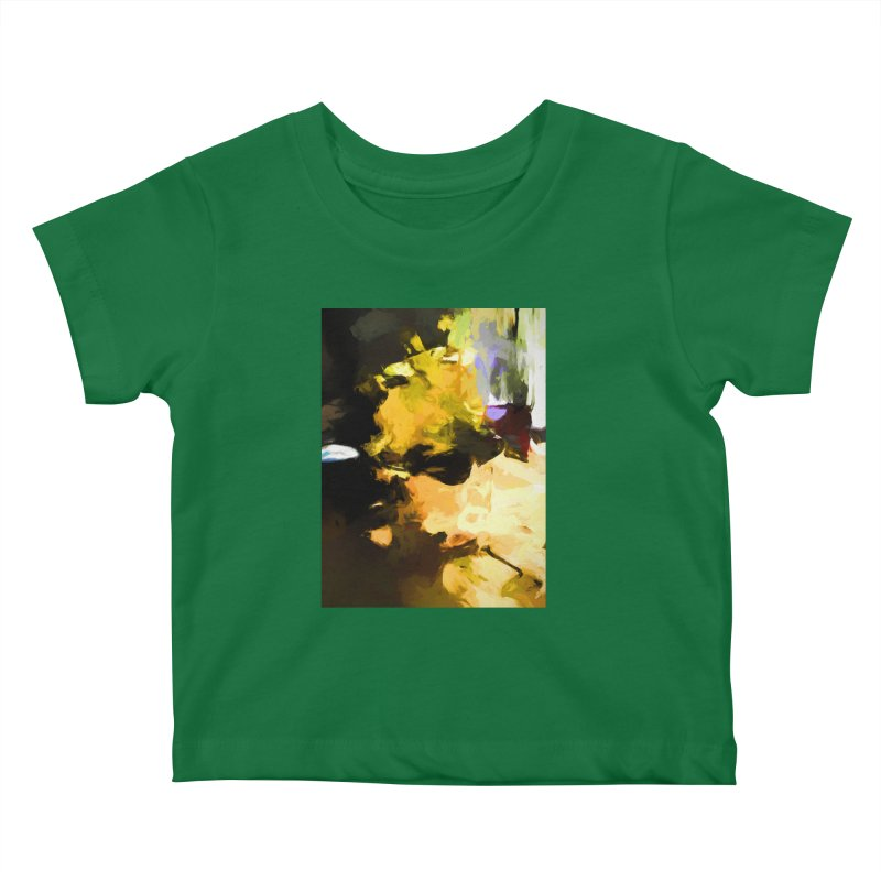 Yellow Square Scoop Kids Baby T-Shirt by jackievano's Artist Shop