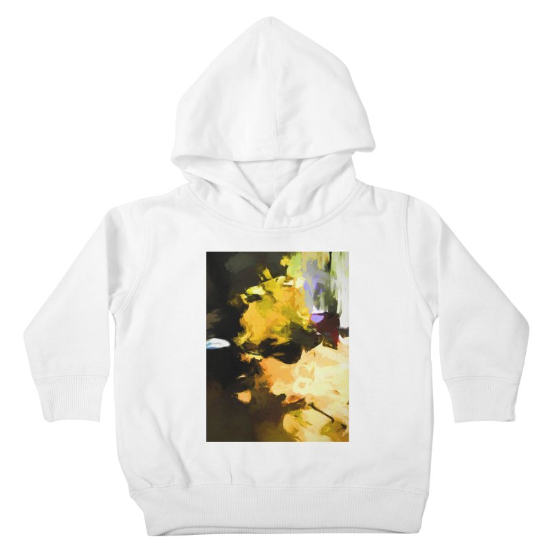Yellow Square Scoop Kids Toddler Pullover Hoody by jackievano's Artist Shop
