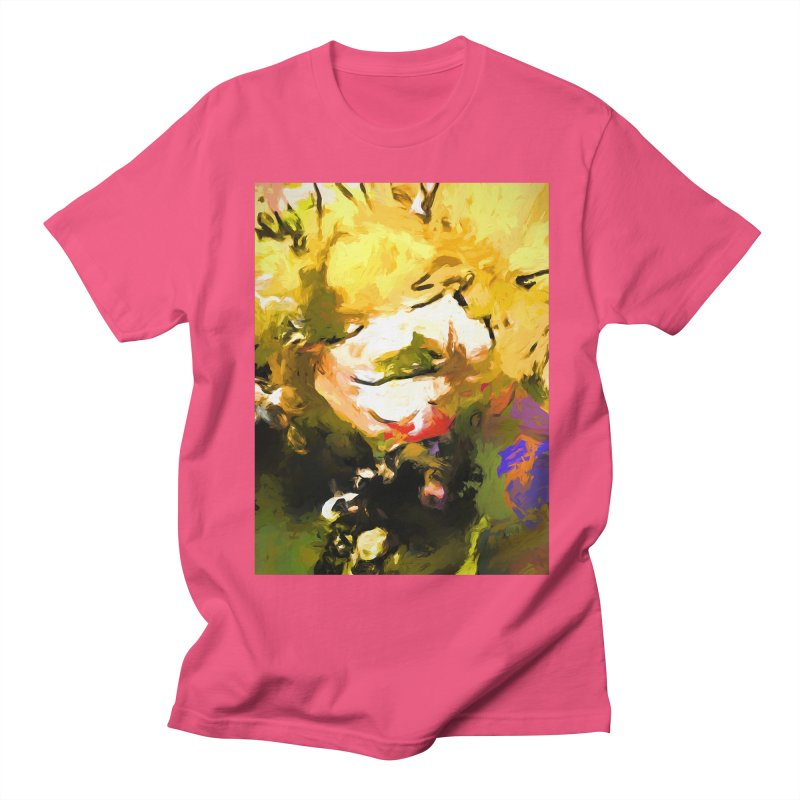 White Flower Eye Women's Regular Unisex T-Shirt by jackievano's Artist Shop