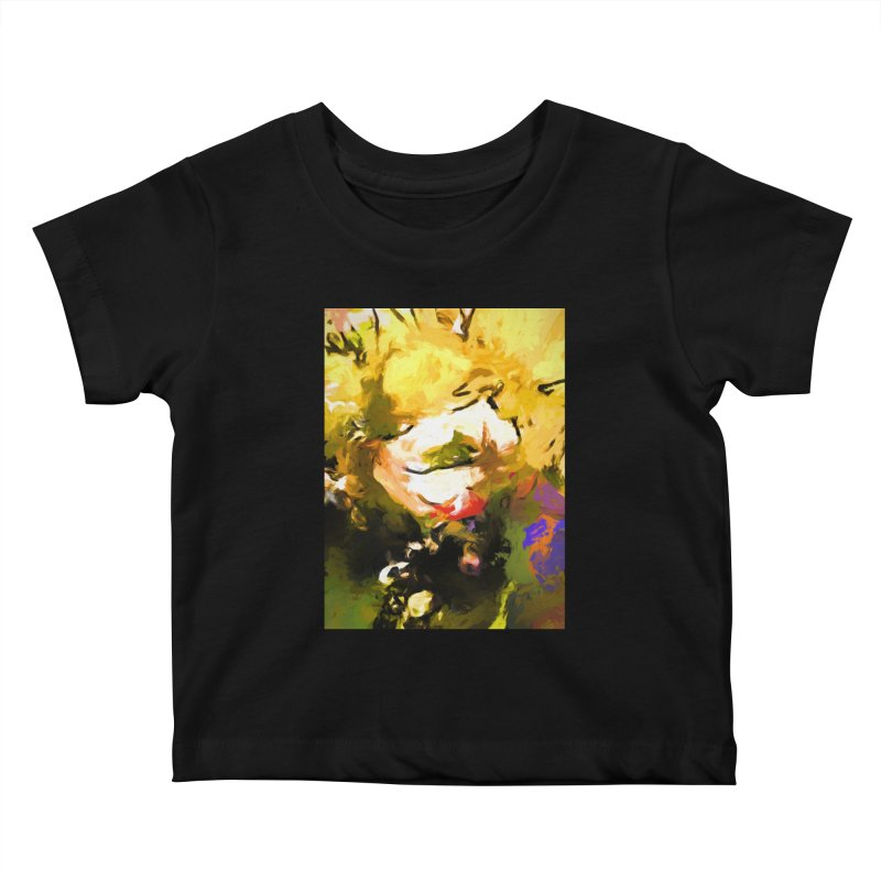 White Flower Eye Kids Baby T-Shirt by jackievano's Artist Shop