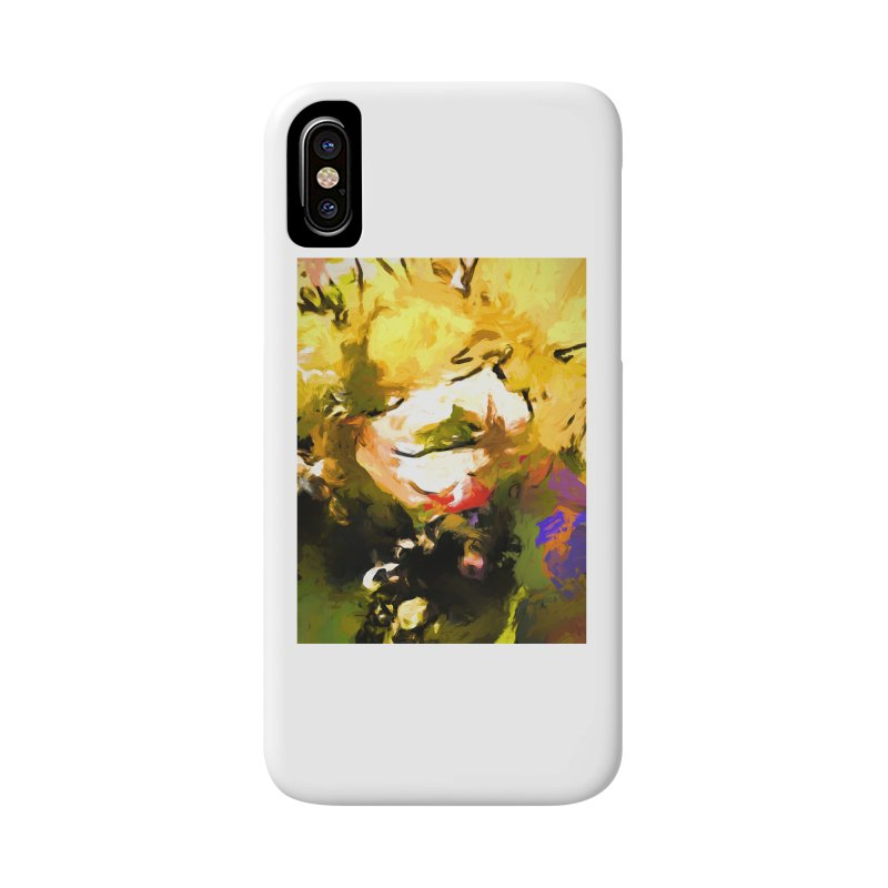 White Flower Eye Accessories Phone Case by jackievano's Artist Shop