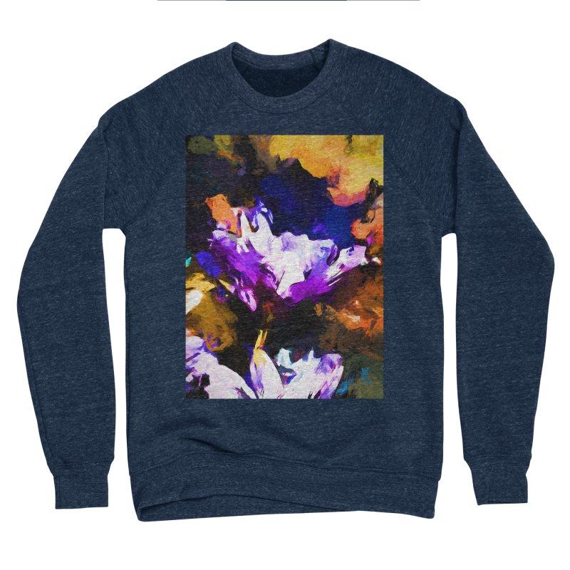 Jellyfish Lavender Flower Men's Sponge Fleece Sweatshirt by jackievano's Artist Shop