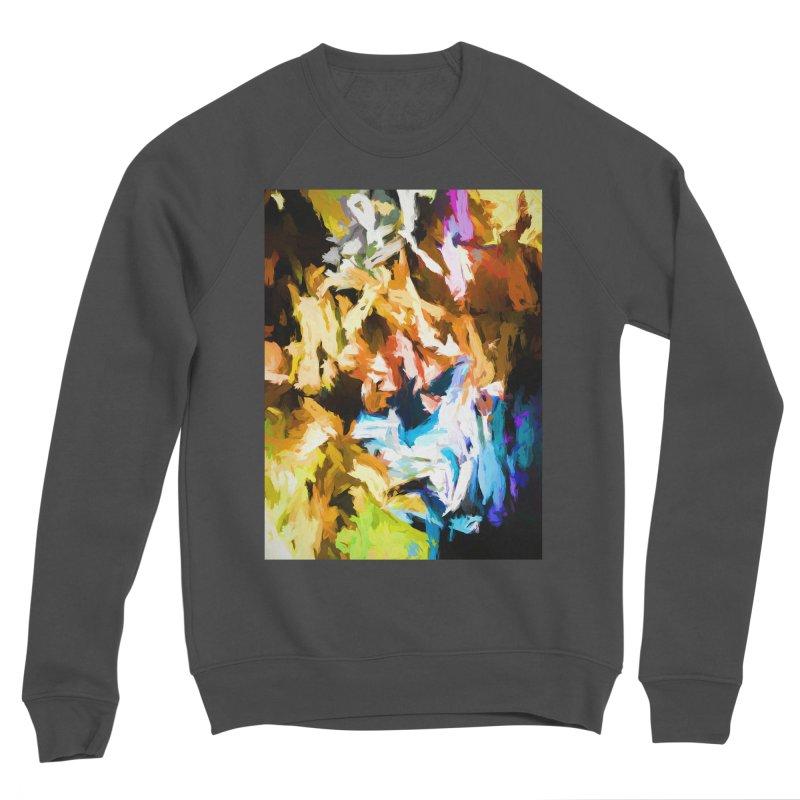 Ghost Cat Men's Sponge Fleece Sweatshirt by jackievano's Artist Shop
