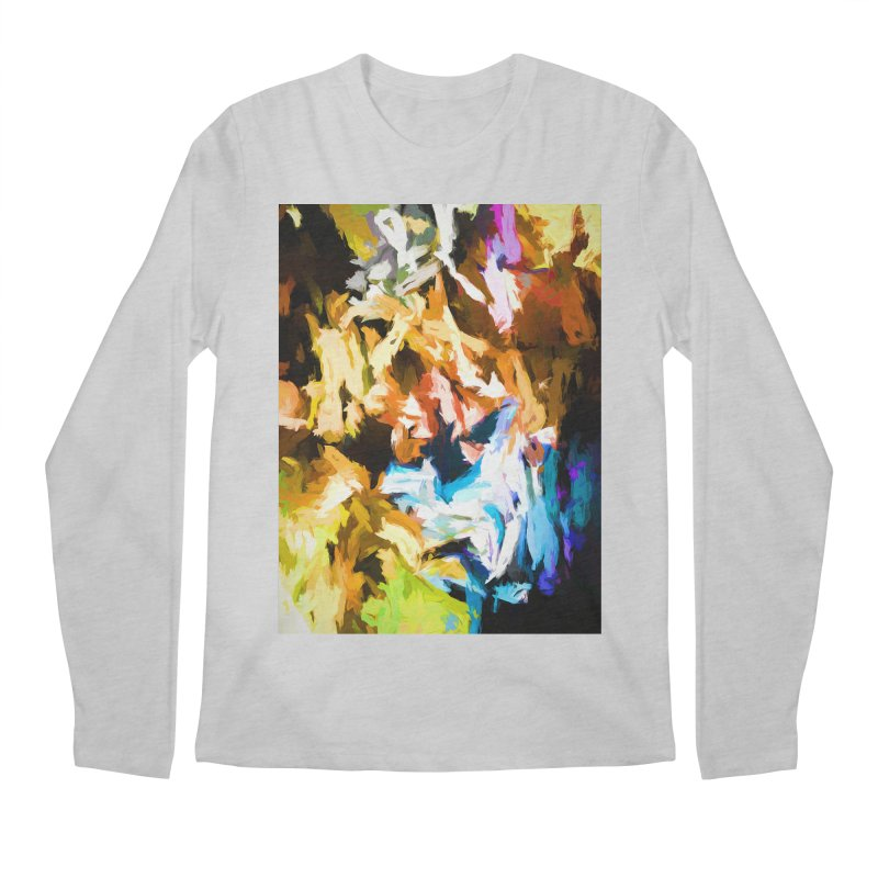 Ghost Cat Men's Regular Longsleeve T-Shirt by jackievano's Artist Shop