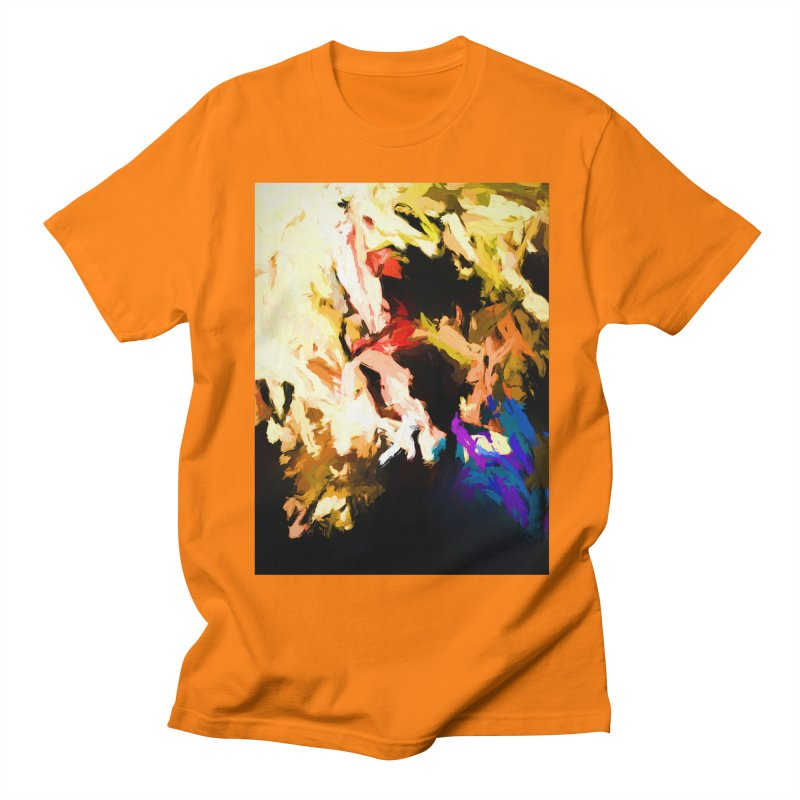 Screaming Man in the Abyss Men's Regular T-Shirt by jackievano's Artist Shop