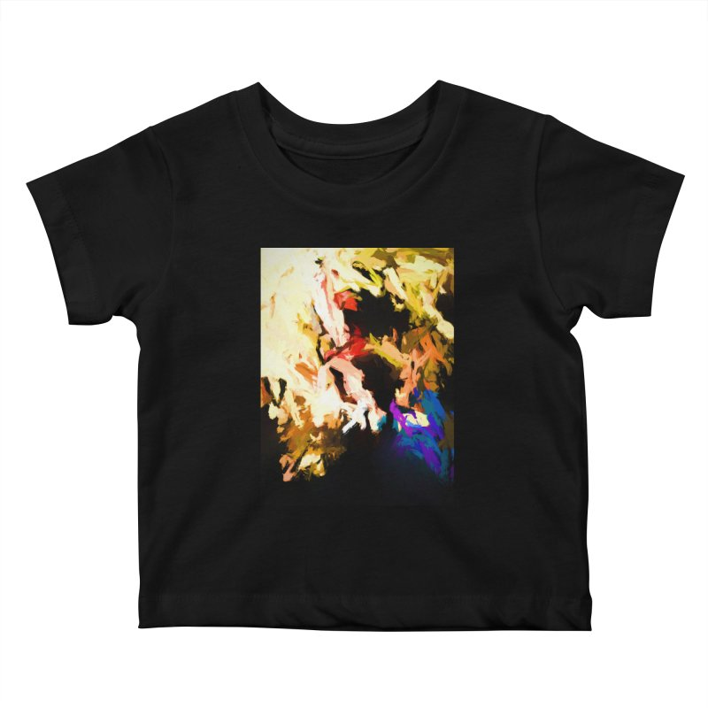 Screaming Man in the Abyss Kids Baby T-Shirt by jackievano's Artist Shop
