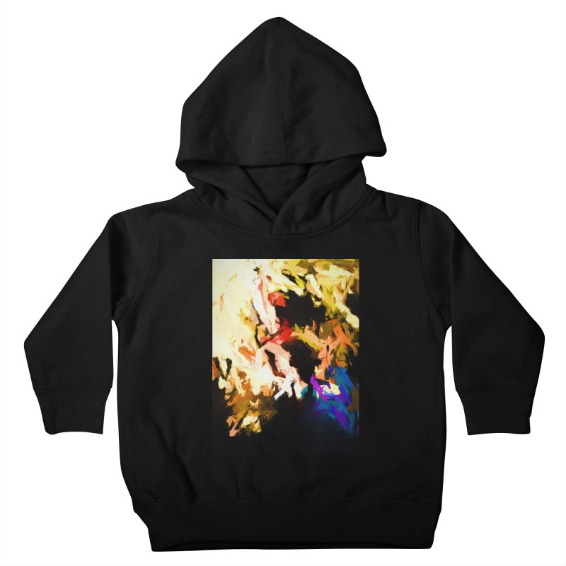 Screaming Man in the Abyss Kids Toddler Pullover Hoody by jackievano's Artist Shop