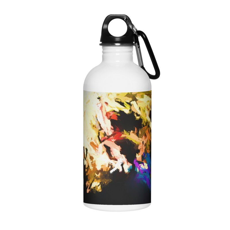 Screaming Man in the Abyss Accessories Water Bottle by jackievano's Artist Shop