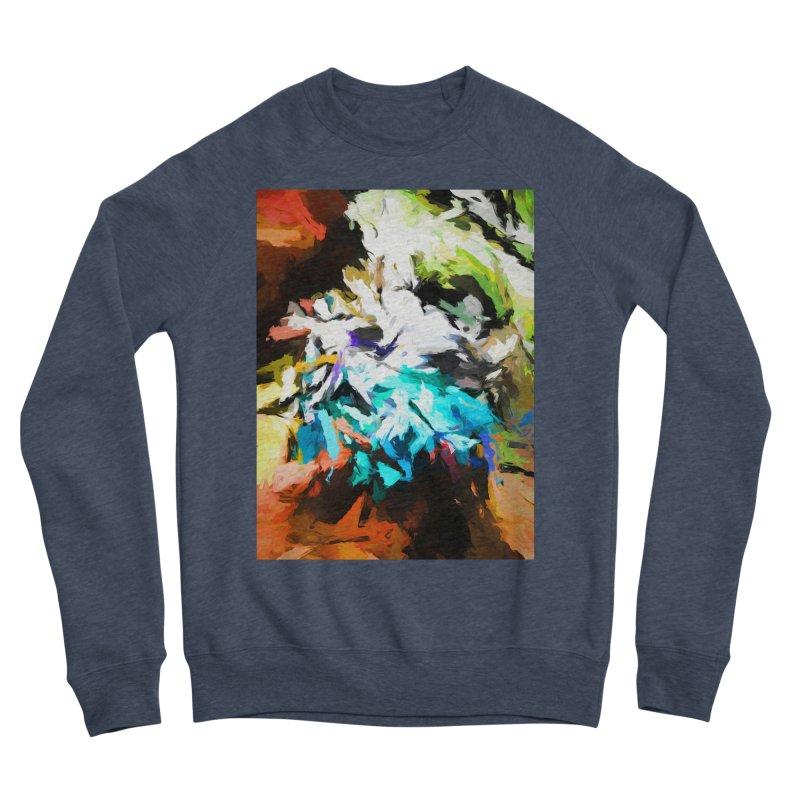 Green Windowsill in a Room Men's Sponge Fleece Sweatshirt by jackievano's Artist Shop