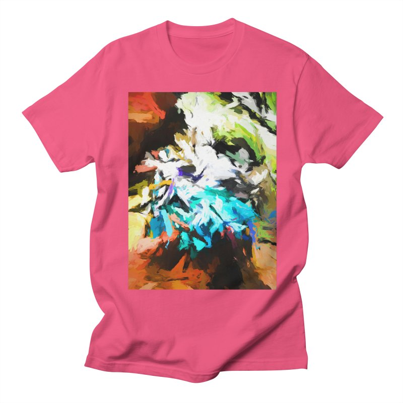 Green Windowsill in a Room Men's Regular T-Shirt by jackievano's Artist Shop