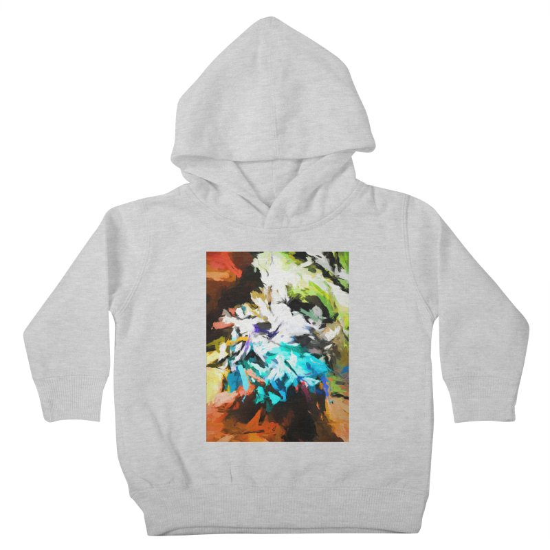 Green Windowsill in a Room Kids Toddler Pullover Hoody by jackievano's Artist Shop