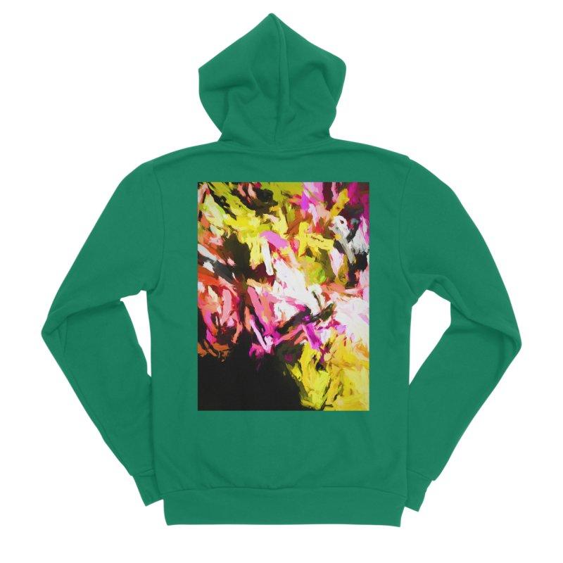 Pink Triangle in a Canola Field Women's Sponge Fleece Zip-Up Hoody by jackievano's Artist Shop