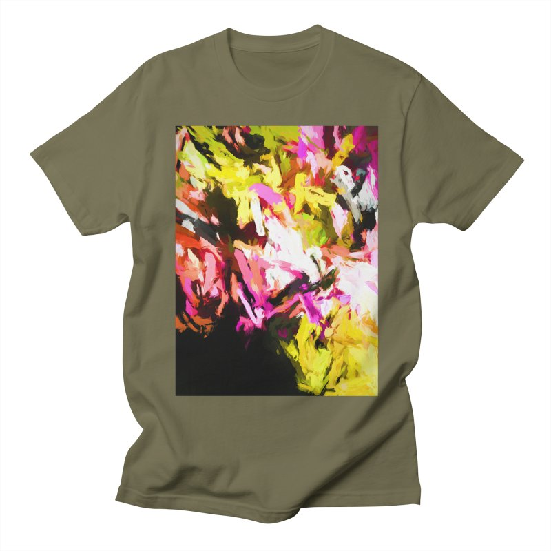 Pink Triangle in a Canola Field Women's Regular Unisex T-Shirt by jackievano's Artist Shop