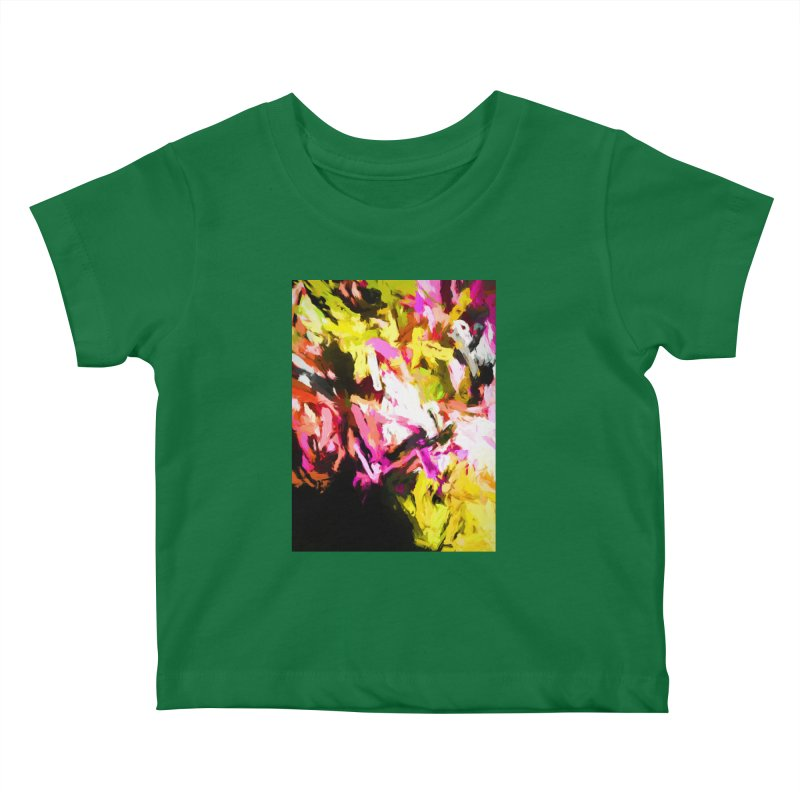 Pink Triangle in a Canola Field Kids Baby T-Shirt by jackievano's Artist Shop