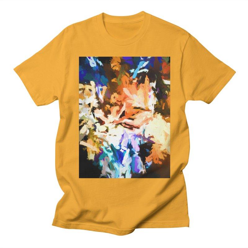 Cat and the Dander Effect Men's Regular T-Shirt by jackievano's Artist Shop