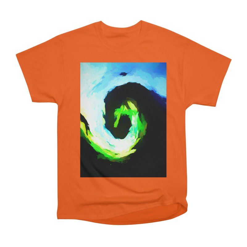 Curled Fist of the Tidal Wave Women's Heavyweight Unisex T-Shirt by jackievano's Artist Shop