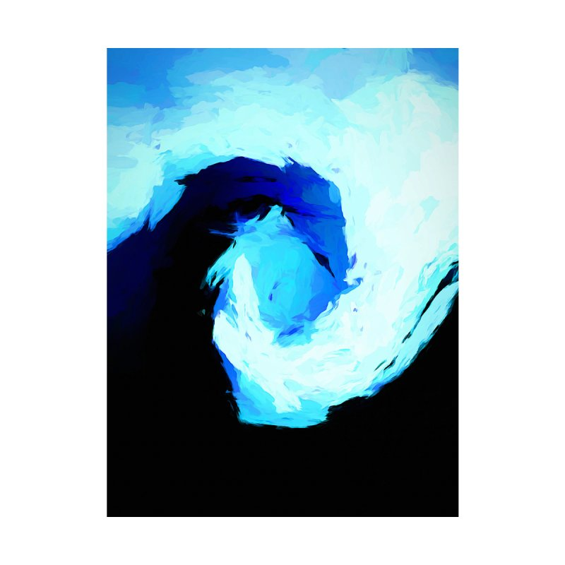 Square Surge of the Blue Tsunami by jackievano's Artist Shop