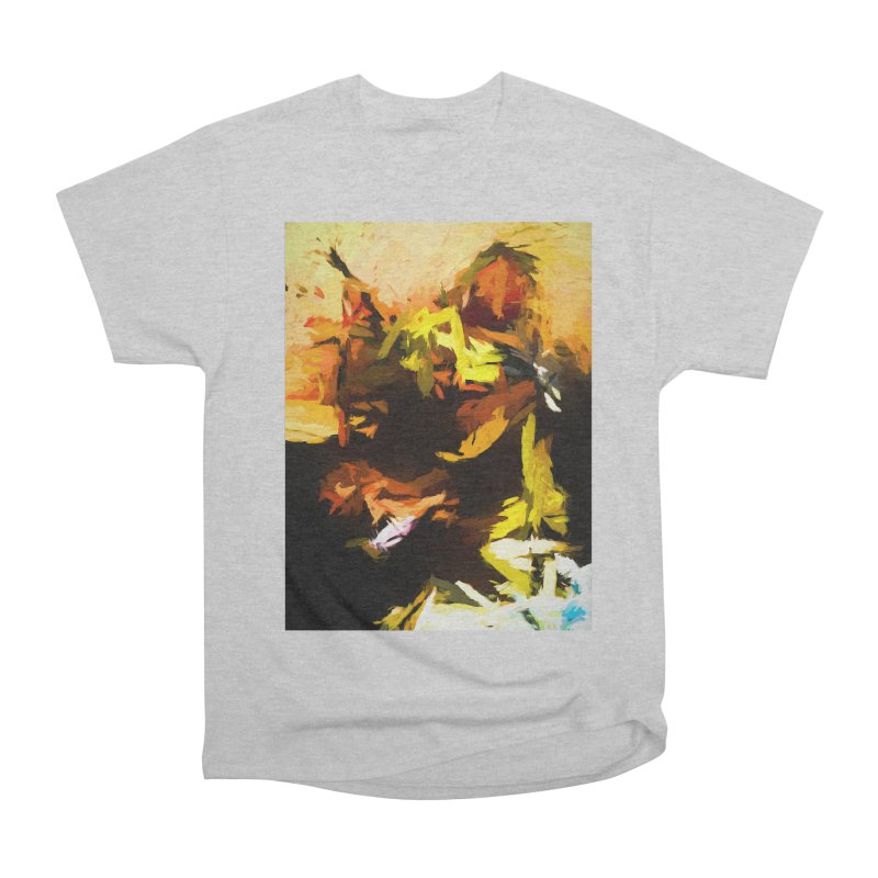Waking of the Volcano Cat Women's Heavyweight Unisex T-Shirt by jackievano's Artist Shop