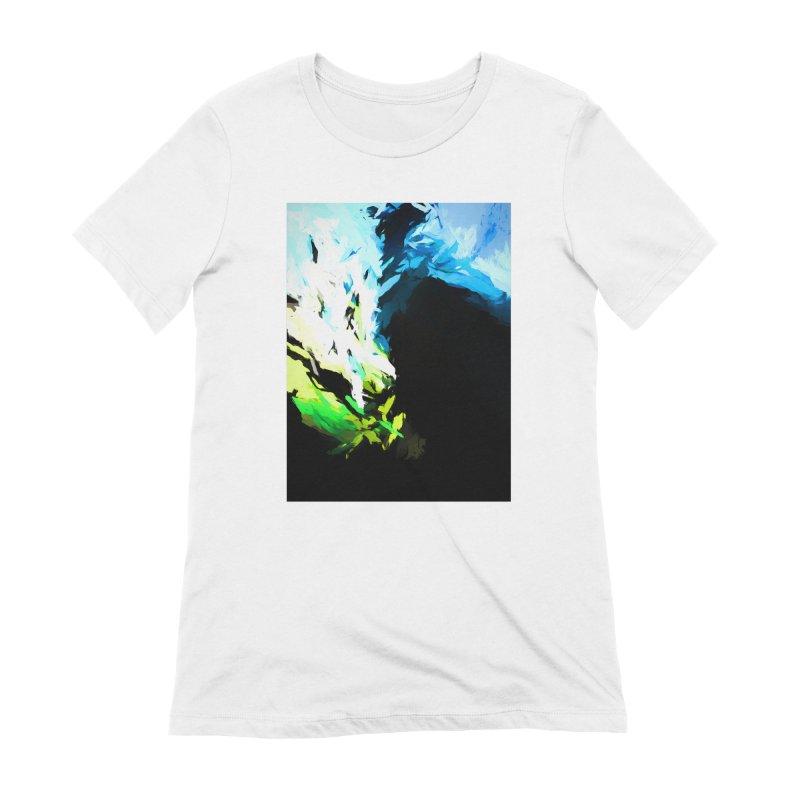Water Drop Tsunami Slam Women's Extra Soft T-Shirt by jackievano's Artist Shop