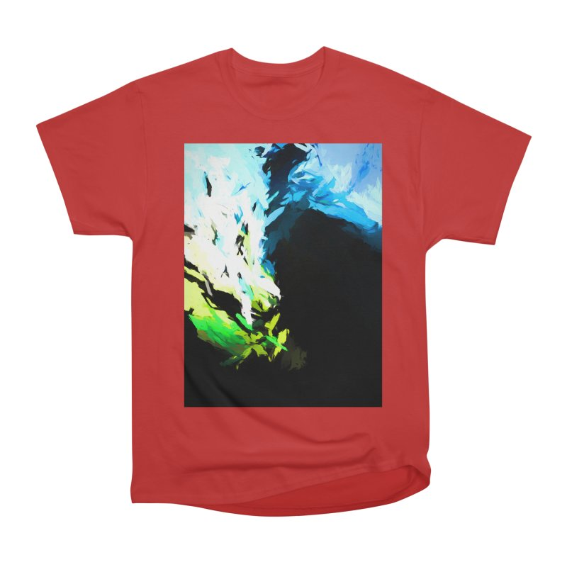 Water Drop Tsunami Slam Men's Heavyweight T-Shirt by jackievano's Artist Shop