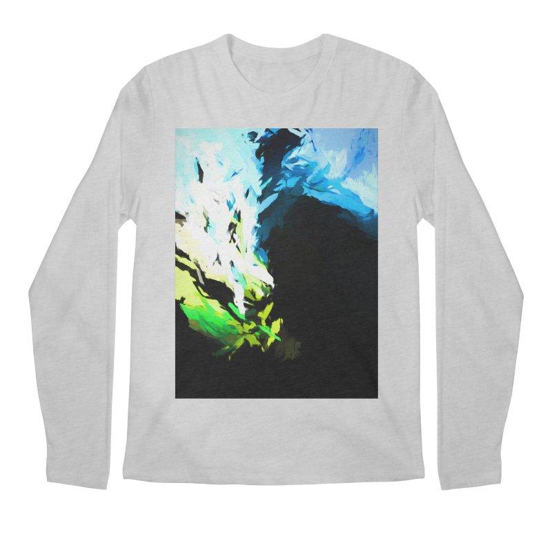 Water Drop Tsunami Slam Men's Regular Longsleeve T-Shirt by jackievano's Artist Shop