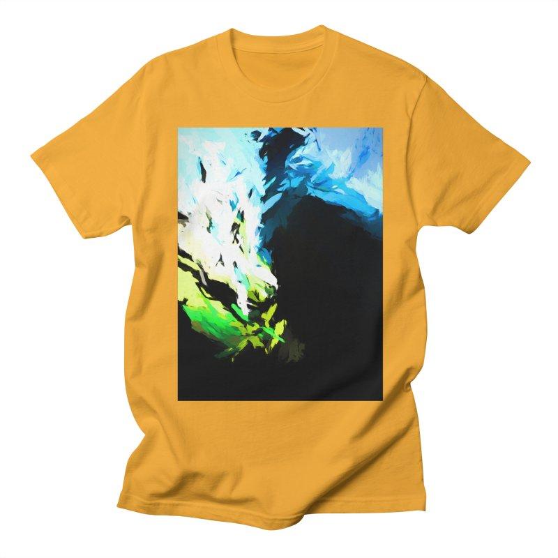 Water Drop Tsunami Slam Men's Regular T-Shirt by jackievano's Artist Shop