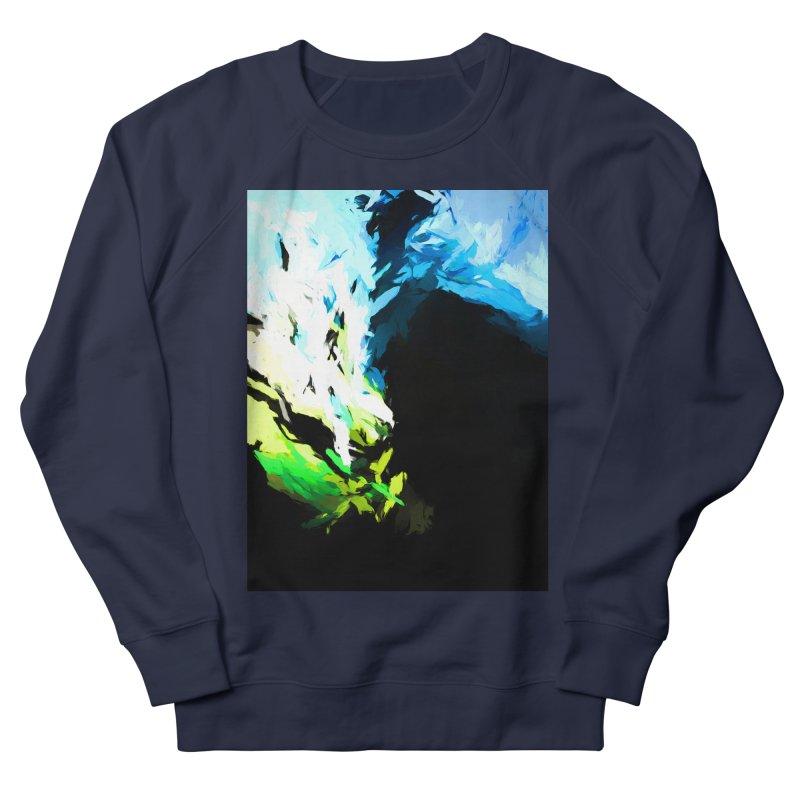 Water Drop Tsunami Slam Men's French Terry Sweatshirt by jackievano's Artist Shop