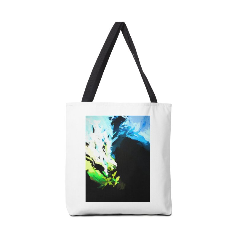 Water Drop Tsunami Slam Accessories Tote Bag Bag by jackievano's Artist Shop
