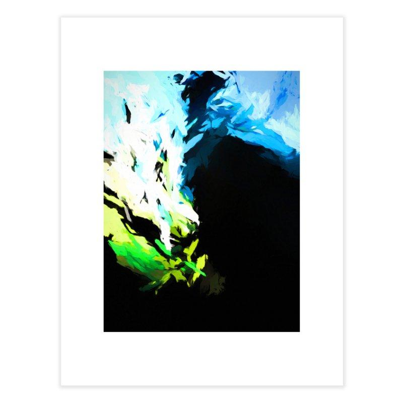 Water Drop Tsunami Slam Home Fine Art Print by jackievano's Artist Shop